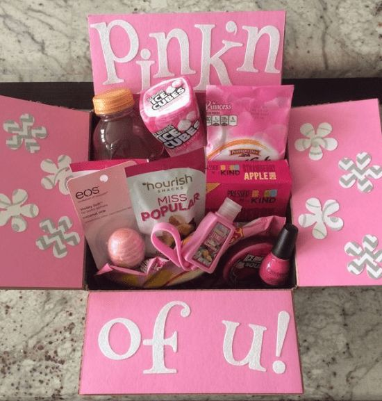Pink'n of You: Mother's Day Care Package Idea