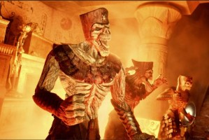 Revenge of the Mummy ride at Universal Orlando.