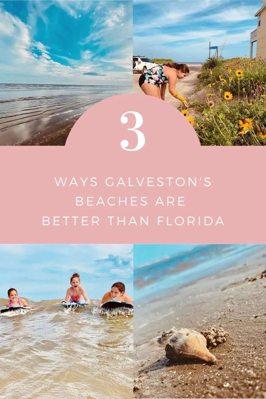 3 Ways Galveston's Beaches are Better Than Florida | Finding Mandee