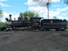 One of two older working locomotives