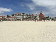 Hotel Del from the beach