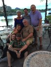 My parents, Stacia's dad, Stacia, Dean, Erika (my niece) and Matthew (my nephew)