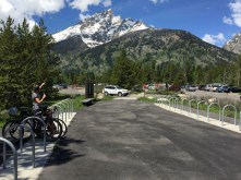 Jenny Lake trailhead bike parking