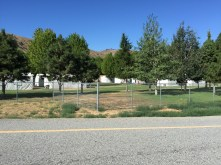 Migrant housing tents