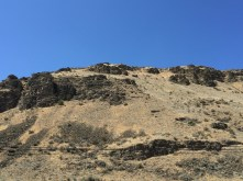 """What the bluff looks like """"naturally"""""""