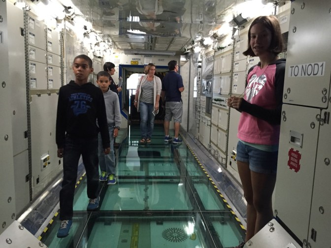 Space Station training module.