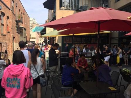 Post Alley restaurants
