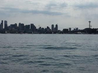 Seattle skyline from Lake Union