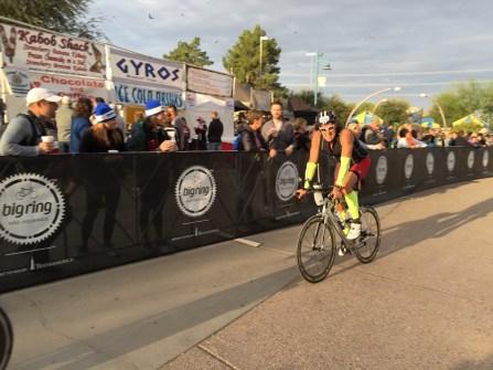 Starting bike course