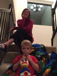 Kathy and her nephew