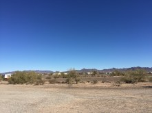 Snowbirds hanging in the desert @ the LTVA