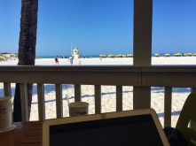 Not a bad office view.