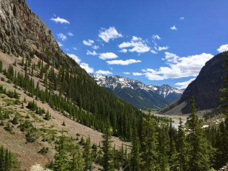 On the road to Animas Forks.