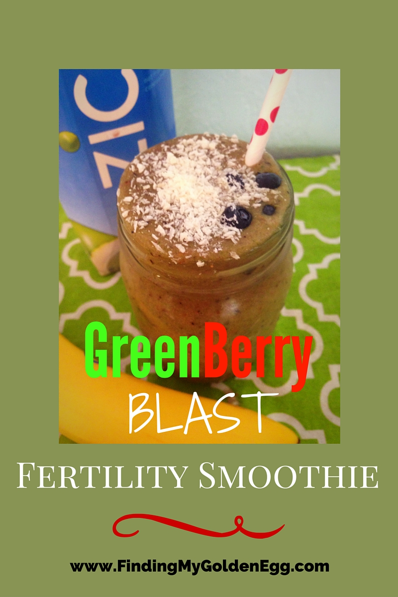 Green Berry Blast Fertility Smoothie