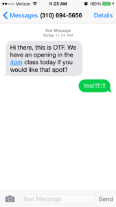 OTF Text