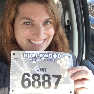 Hollywood Half 5K Bib Number