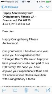 1 Year Of OTF