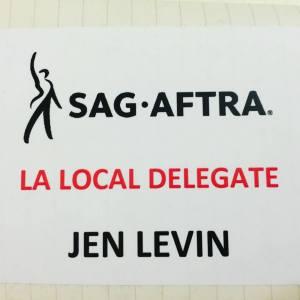 SAG-AFTRA Delegate
