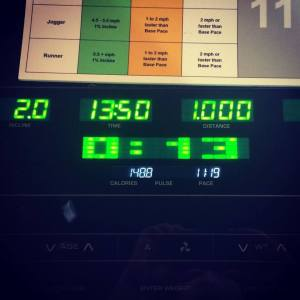 1 Mile Challenge