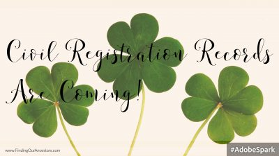 Civil Registration Records Are Coming Online