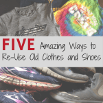 5 Amazing Ways to Re-Use Old Shoes and Clothes