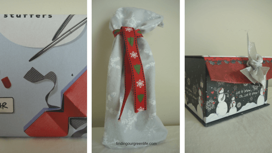 Alternatives to Gift wrap - Finding Our Green Life