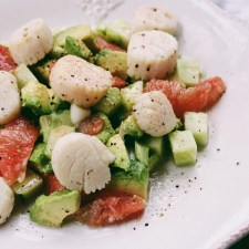Bringing the Honeymoon Home: Grapefruit Avocado Salad