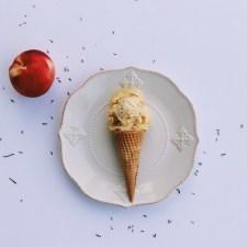 Summer Peach Ice Cream