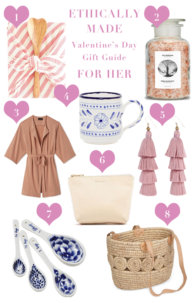 Ethically Made Valentine's Day Gifts