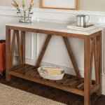 21 Farmhouse Console Tables For Entryways Finding Sea Turtles