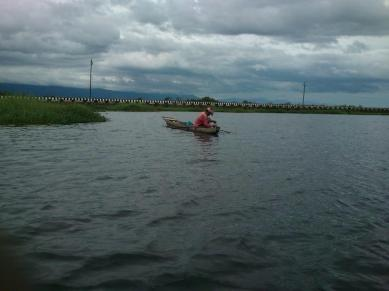 Nga Mee (Fisherman) at Loktak lake