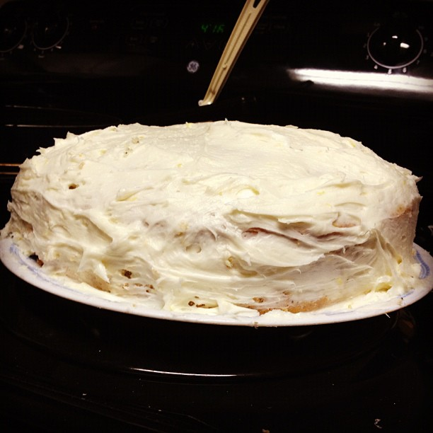 Lemon Poppyseed Layer Cake | finding time for cooking blog