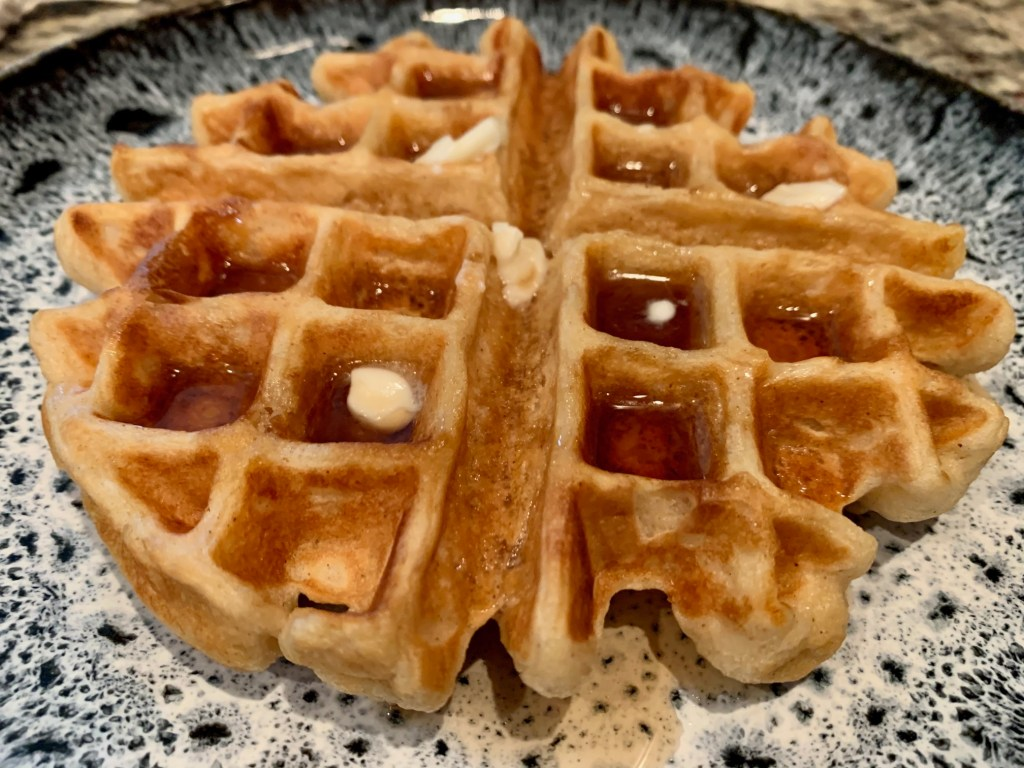 Perfect easy waffle recipe - buttermilk belgian waffles for any day
