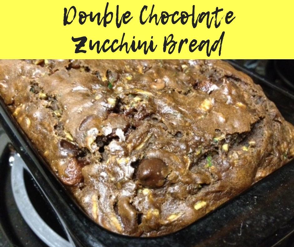 Double Chocolate Zucchini Bread | easy, delicious, and healthy zucchini bread with chocolate #zucchinibread #chocolate #bread #healthydesserts #breakfast