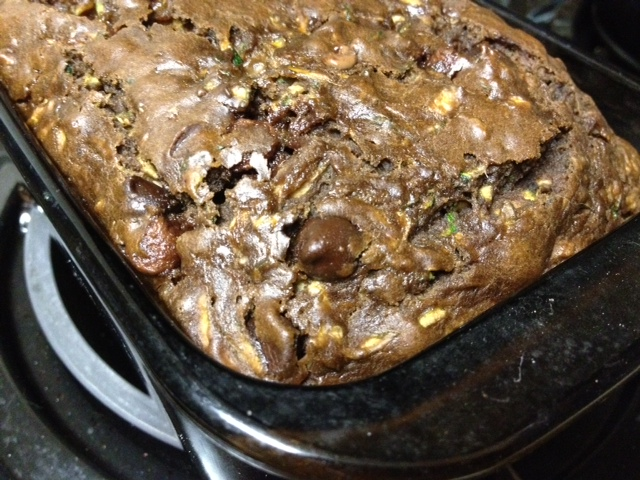 Double Chocolate Zucchini Bread | finding time for cooking blog
