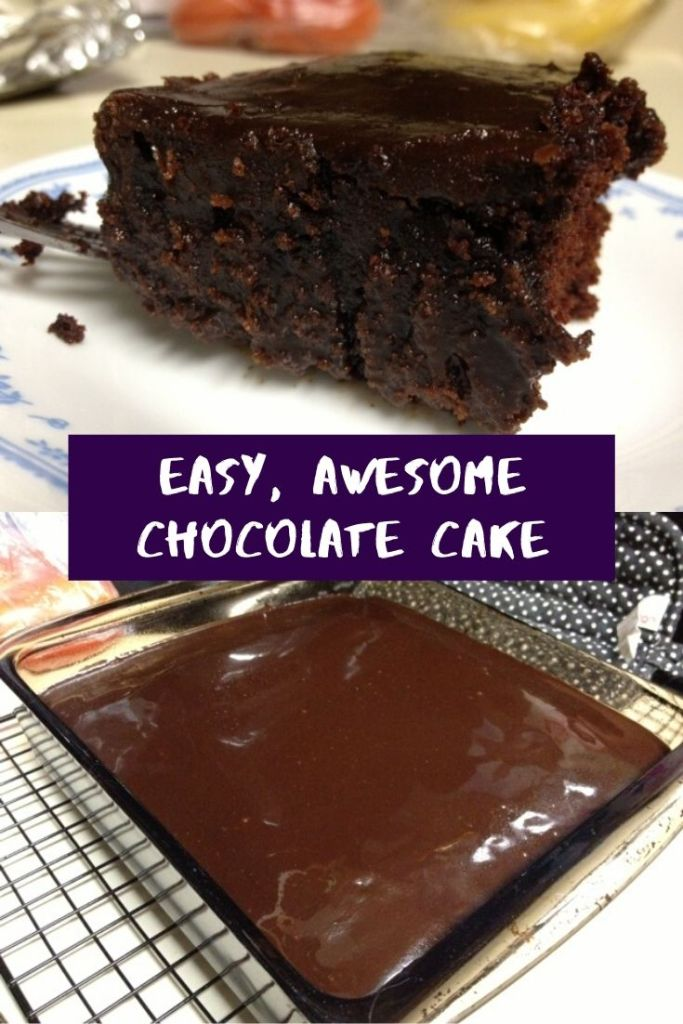 Easy, Awesome Chocolate Cake | finding time for cooking blog