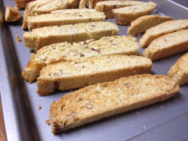 orange almond biscotti twice baked
