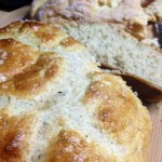 Rosemary Olive Oil Bread with Sea Salt