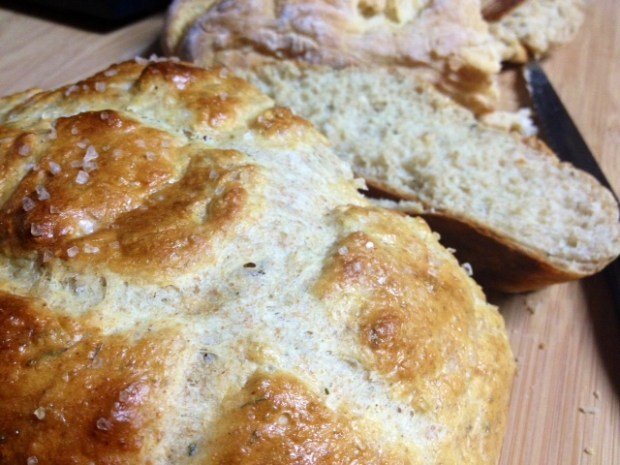 rosemary olive oil bread finished