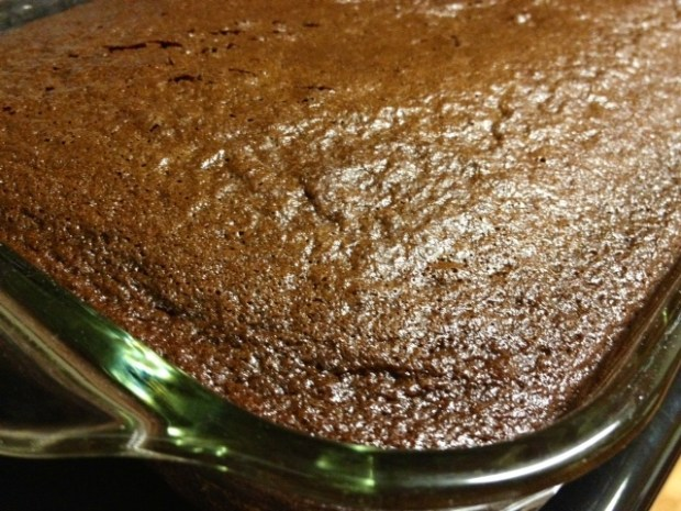 black magic chocolate cake using coffee