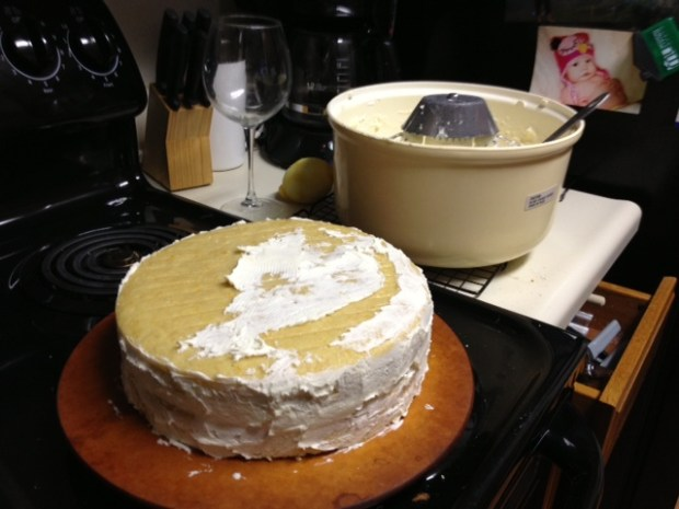 citrus marmalade cake crumb coating2