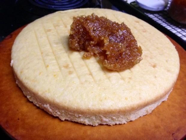 citrus marmalade cake marmalade filling
