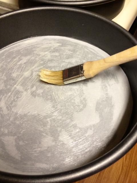 citrus marmalade cake pans prepared