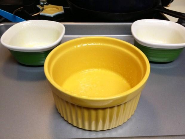 lemon lava cake ramekins