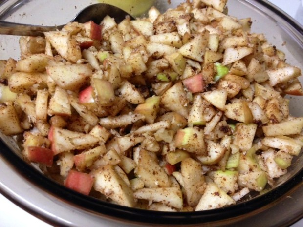 honey apple cake apples spices