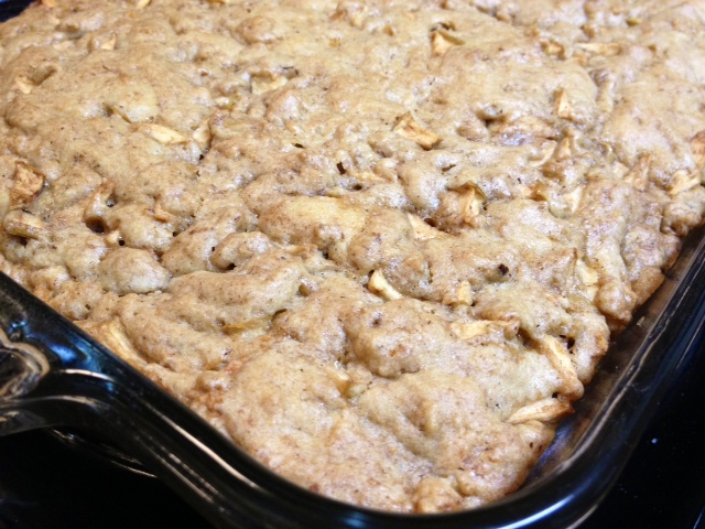 Fresh Apple Cake Recipe Bundt Pan Oil Cinnamon Sugar Walnuts