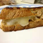 Amuse Bouche:  Grilled Cheese with Truffle Cheese & Rosemary Bread