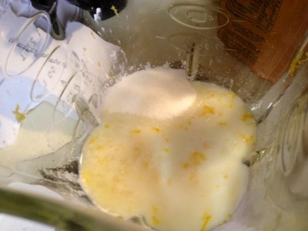 lemon cornstarch pudding lemon zest sugar
