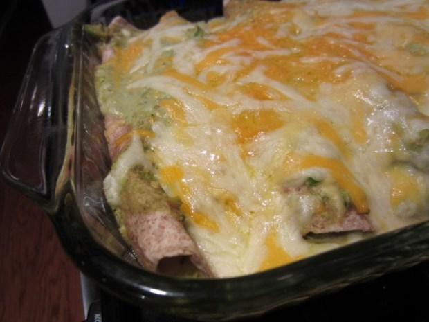 chicken avocado enchiladas finished2