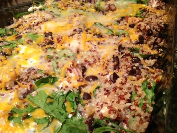 chicken quinoa veggie bake finished3